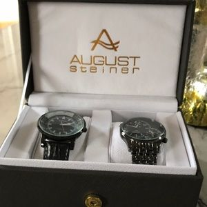 NEW Dual set of watches